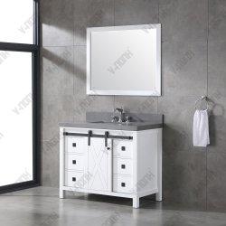 새로운 디자인 고급 솔리드 목재 욕실 가구 캐비닛