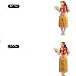 Les jupes de Hula Raphia Hawaiian Costumes robe pour les femmes
