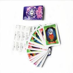 Memória personalizados Poker Jogo de cartões personalizados impressão Trading Card Game Stand