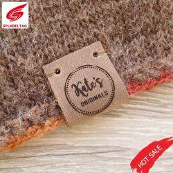 Forme Rectangle faux cuir de daim Genuies Patch pour vêtements de jeans