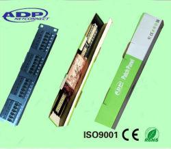 """Patch panel - RJ-45 Cat. 6/Cat5. E - 1 U - 19"""" de alta densidad -"""