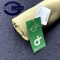 Tc93/7Dri-Release poli algodón tejido rápido de la humedad Wickinginterbloqueo doble