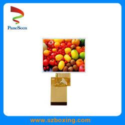 3.5'' TFT LCD large avec affichage de température de 320*240 Résolution, interface RGB pour périphérique portable