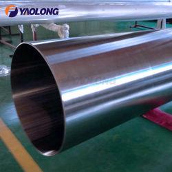 304 304L 316L Tubo de Acero Inoxidable de Gran Diámetro para Aguas Residuales