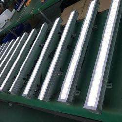 24*3W à LED étanche Paysage de lavage de mur Lampes en scène extérieure la lumière