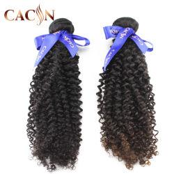 Venda por grosso de 60 cm 100% virgem Yaki Kinky bruto chinês ondulação muito longa de cabelo humano