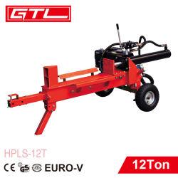 Gas 6.5HP Máquina forestal del registro de la madera el divisor (HPLS-12T)