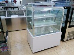 Armadietto di esposizione del frigorifero della vetrina del dessert del negozio della torta