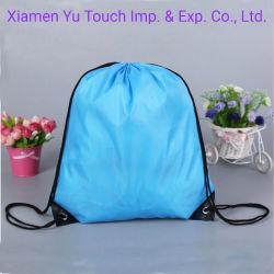 Оптовая торговля рекламные подарочный пакет пользовательских печатных водонепроницаемый мешок с помощью строп для поездок полиэстер нейлон кулиской рюкзак сумки