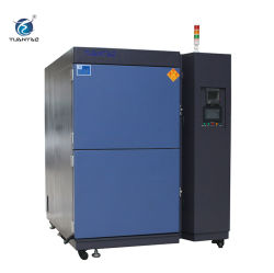 2 de Machine van de Thermische Schok van het Type van Mand van de Kamer van de Thermische Schok van streken