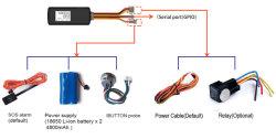 Автомобильная GPS Tracker с Sos или внешнего аккумулятора (ТК419)