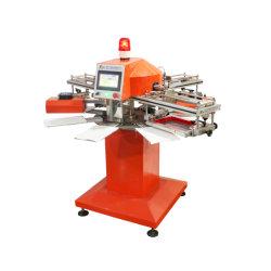 SPF de Volledige Automatische Mini TextielMachine van de Druk van de Printer van de Serigrafie van het Overhemd van de Carrousel voor Verkoop
