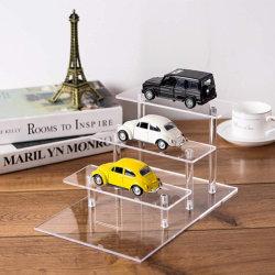 Modelo de coche acrílico transparente Soporte de pantalla