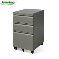 Mobilier classique moderne 3 tiroir mobile d'acier armoire de fichiers