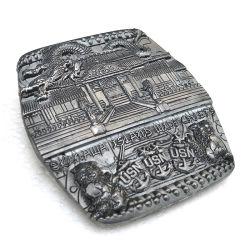 Magical Carving Processo Medalha personalizado