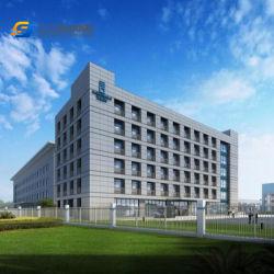 Structure en acier de haute élévation de gros bâtiment de bureau / Hôtel