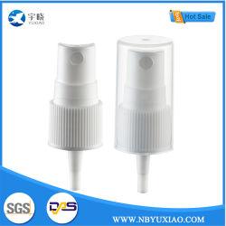 白いプラスチック製品18/410はクリーニング(YX8-4)のために罰金を科す霧圧力手のスプレーヤーポンプにペットまたはガラスビンの装飾的な包装と