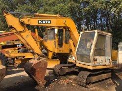 Utiliza 250 Mini excavadoras de orugas de Kato, HD250 de segunda mano en buenas condiciones de la excavadora en el bajo precio