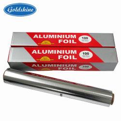 8011 O grade alimentaire des ménages 3-300m Rouleau d'aluminium à usage intensif