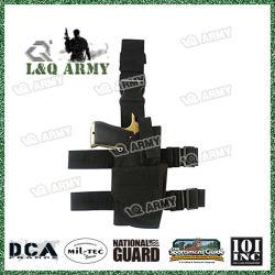 Funda de pierna ajustable muslo táctico Funda para pistolas camuflaje