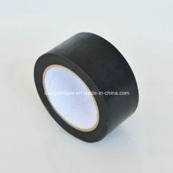 De color negro de la cinta protectora para tubo enrollado
