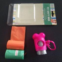 Biodegradável e compostável biodegradáveis perfumada de HDPE Cocô de Cao de plástico bag bolsa Pet saco de resíduos de Pet Food Bandeja Saco das fraldas Camisa camisa Cat Dog saco de resíduos
