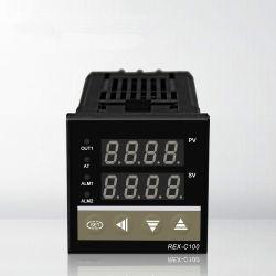 Rkc numérique double contrôleur de température PID Rex-C100/SSR de sortie de relais