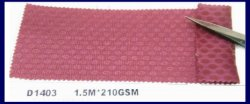 الألياف الدقيقة 3D Air Mesh Lace Fiberglass Paraben Mesh Fabric