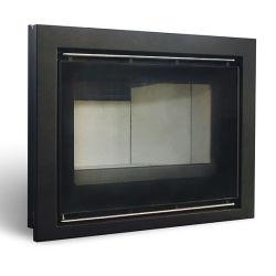 4-Sided Frame chimenea de leña Insertar 18kw estufa de chimenea de pared moderno China Proveedor