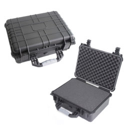 PP 플라스틱 방수 비행 방어적인 공구 상자 밀봉된 안전 장치 상자 휴대용 연장통 건조한 상자 옥외 장비