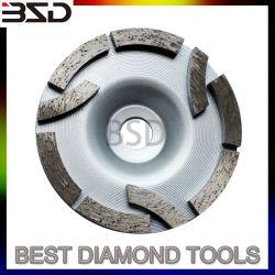 Copa do diamante diamante da roda de polimento de moagem