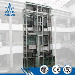 2018 Nuevo cristal levadizo gran ascensor panorámico para la venta