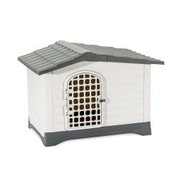 Vari 방수 플라스틱 옥외 이글루는 동물성 애완견 감금소 운반대 집 개집 마루를 디자인한다