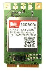 حارّ عمليّة بيع [4غ] وحدة نمطيّة [سم7500س-ه] مصغّرة [بس] مودم لأنّ شبكة اتّصالات مشروع