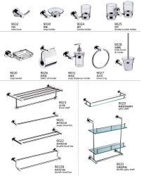 Foshan 욕실 화장실 브러시 및 홀더 세트 9000 시리즈