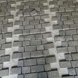 Lados natural percurso em granito preto para garagem Garagem Afogarem Paisagem