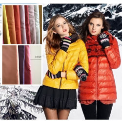 50d*50d/300t Polyester Pongées Fabric de shell ou revestimento de vestuário