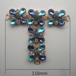 Горячая продажа детей Rhinestone Crystal металлические крепежные детали орнамента оформление зерноочистки