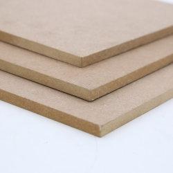 Haute brillance MDF laminé en fibre de bois de peuplier blanc Prix feuilles MDF MDF Conseils