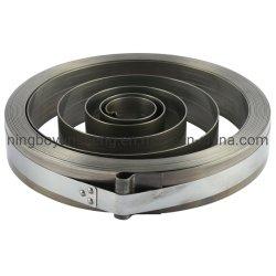 Carrete de manguera de acero de agua de aire de primavera Carrete de manguera de Cable de bobina automático Sprinig resortes en espiral plana