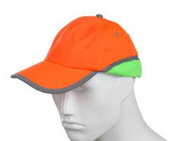 100% polyester de haute qualité Hivis Man Casquette de baseball de sécurité