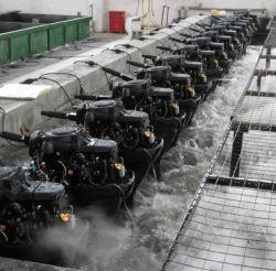 4-takt 15HP Outboard / afstandsbediening / Elektrische start / korte as
