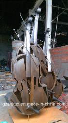 O violoncelo, adequado para aplicações interiores e exteriores de Escultura em bronze