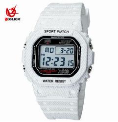 Commerce de gros montres électroniques LED étanche date numérique du Sport Militaire de montres à quartz analogique #V657