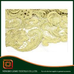 Big Bordados Tecido Lace, tecido de Renda Líquida para tornar a vestir