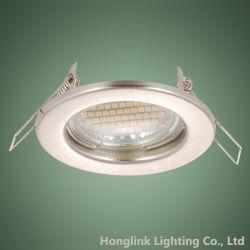 Fabricant de gros MR16 LED halogène GU10 Luminaire Downlight encastré dans le plafond
