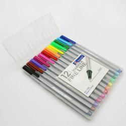 PVC Tube Packed Setとの2015三角のFine Liner Pen