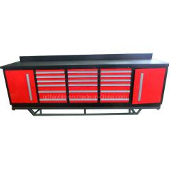 Качество 10FT металлические стали 18 ящик инструментальный ящик гараж шкаф для хранения рабочий стол