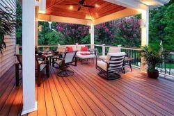 Greener bois plancher et plafond de mur extérieur