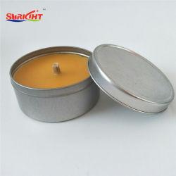 Soy Waxの錫の蝋燭なされる3%のCitronellaの反カ